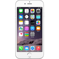 Apple iPhone 6 (64GB Silver Pre-Owned Grade A) at £25.00 on No contract £27.16 a month.