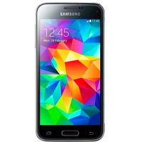 Samsung Galaxy S5 Mini (16GB Black Pre-Owned Grade B) at £50.00 on goodybag Always On with UNLIMITED mins; UNLIMITED texts; UNLI