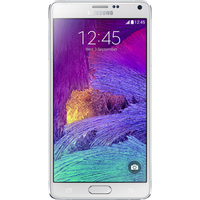 Samsung Galaxy Note 4 (32GB White Pre-Owned Grade B) at £25.00 on goodybag 9GB with 2000 mins; UNLIMITED texts; 9000MB of 4G dat