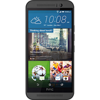 HTC One M9 (Gunmetal Grey Pre-Owned Grade C) at £50.00 on goodybag 3GB with 500 mins; UNLIMITED texts; 3000MB of 4G data. £24.67