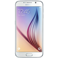 Samsung Galaxy S6 (64GB White Pearl Pre-Owned Grade A) at £200.00 on goodybag Always On with UNLIMITED mins; UNLIMITED texts; UN