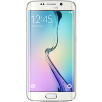 Samsung Galaxy S6 Edge (32GB White Pearl Pre-Owned Grade C) at £25.00 on goodybag Always On with UNLIMITED mins; UNLIMITED texts