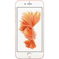 Apple iPhone 6s (64GB Rose Gold Refurbished Grade A) at £25.00 on goodybag Always On with UNLIMITED mins; UNLIMITED texts; UNLIM