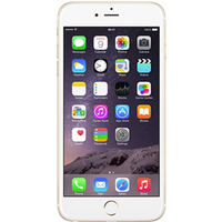Apple iPhone 6s Plus (16GB Gold Pre-Owned Grade C) at £25.00 on No contract £9.63 a month.