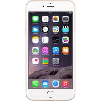 Apple iPhone 6s Plus (128GB Gold Pre-Owned Grade C) at £25.00 on No contract £16.97 a month.