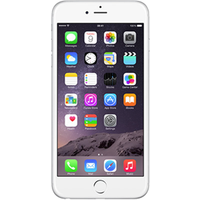 Apple iPhone 6s Plus (64GB Silver Pre-Owned Grade A) at £200.00 on No contract £17.46 a month.