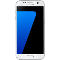 Samsung Galaxy S7 (32GB White Pearl Pre-Owned Grade C) at £189.00 on No contract.