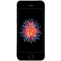 Apple iPhone SE (16GB Space Grey Pre-Owned Grade B) at £25.00 on No contract £7.65 a month.