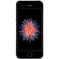Apple iPhone SE (64GB Space Grey Pre-Owned Grade C) at £25.00 on No contract £30.69 a month.
