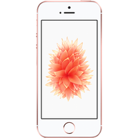 Apple iPhone SE (16GB Rose Gold Pre-Owned Grade B) at £25.00 on No contract £17.90 a month.