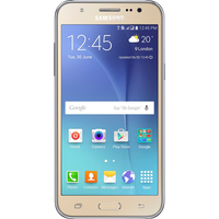 Samsung Galaxy J5 (2016) (16GB Gold Pre-Owned Grade C) at £99.00 on No contract.