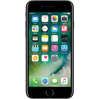 Apple iPhone 7 (256GB Jet Black Refurbished Grade A) at £200.00 on goodybag 8GB with UNLIMITED mins; UNLIMITED texts; 8000MB of