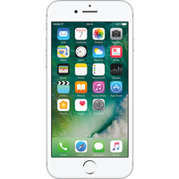 Apple iPhone 7 (256GB Silver Pre-Owned Grade C) at £25.00 on No contract £44.80 a month.