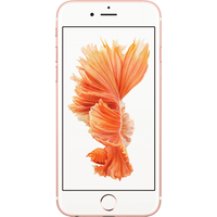 Apple iPhone 6s (32GB Rose Gold) at £429.00 on SIM 250MB (1 Month contract) with UNLIMITED mins; UNLIMITED texts; 250MB of 4G Double-Speed data. £14.00 a month.