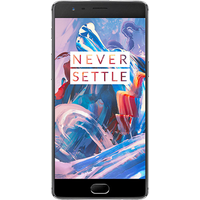 OnePlus 3 Dual SIM (64GB Graphite Black)