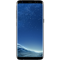 Samsung Galaxy S8 (64GB Midnight Black Pre-Owned Grade B) at £25.00 on goodybag Always On with UNLIMITED mins; UNLIMITED texts;