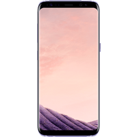 Samsung Galaxy S8 (64GB Orchid Grey) on Essential 10GB (24 Month(s) contract) with UNLIMITED mins; UNLIMITED texts; 10000MB of 4G Double-Speed data. £38.00 a month.
