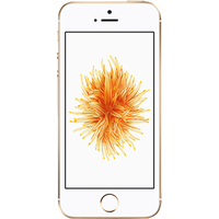 Apple iPhone SE (128GB Gold) at £100.00 on Essential 8GB (24 Month(s) contract) with UNLIMITED mins; UNLIMITED texts; 8000MB of 4G Double-Speed data. £28.00 a month.