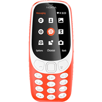 Nokia 3310 (2017) 2G Dual SIM (Warm Red)