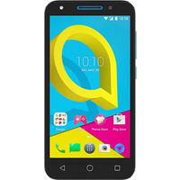 Alcatel U5 4G (8GB Volcano Black with Sharp Blue)