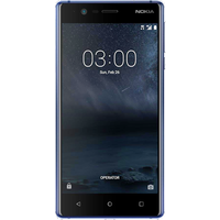 Nokia 3 (16GB Tempered Blue) at £25.00 on goodybag Always On with UNLIMITED mins; UNLIMITED texts; UNLIMITEDMB of 4G data. £33.0