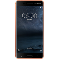Nokia 6 (32GB Copper) at £159.99 on SIM Only (1 Month contract) with 500 mins; UNLIMITED texts; 500MB of 4G data. £15.00 a month.