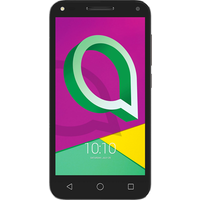 Alcatel U5 3G (8GB Volcano Black with Cocoa Grey)