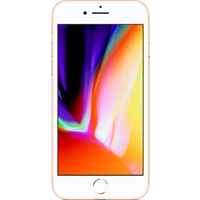 Apple iPhone 8 (64GB Gold) on Red Entertainment (24 Month(s) contract) with UNLIMITED mins; UNLIMITED texts; 25000MB of 4G data. £53.00 a month (Consumer Upgrade Price).