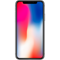 Apple iPhone X (256GB Space Grey Pre-Owned Grade C) at £200.00 on No contract £123.27 a month.