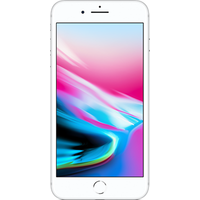 Apple iPhone 8 Plus (64GB Silver Pre-Owned Grade C) at £50.00 on No contract £32.22 a month.