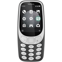 Nokia 3310 (2017) 3G (Charcoal Grey Refurbished Grade A)