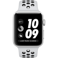Apple Watch Series 4 Nike+ 40mm (GPS + Cellular) Silver Aluminium Case with Pure Platinum/Black Nike Sport Band