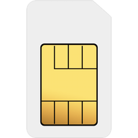 SIM Card Triple SIM on SIM 1GB (1 Month contract) with UNLIMITED mins; UNLIMITED texts; 1000MB of 4G Double-Speed data. £17.00 a month.