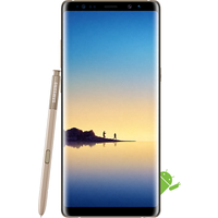 Samsung Galaxy Note 8 (64GB Maple Gold) at £849.00 on SIM Only 6GB (1 Month contract) with 2500 mins; UNLIMITED texts; 6000MB of 4G data. £12.00 a month.