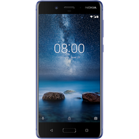 Nokia 8 (128GB Glossy Blue) on O2 Non-Refresh (24 Month(s) contract) with UNLIMITED mins; UNLIMITED texts; 20000MB of 4G data. £39.00 a month.