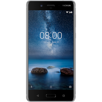 Nokia 8 (Single SIM) (64GB Steel)