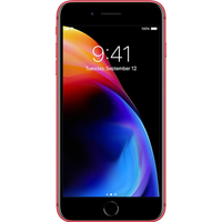 Apple iPhone 8 Plus (256GB (PRODUCT) RED) at £869.00 on Red Entertainment SIM Only (12 Month(s) contract) with UNLIMITED mins; UNLIMITED texts; 25000MB of 4G data. £25.00 a month.