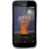 Nokia 1 Dual SIM (8GB Dark Blue) at £9.00 on SIM Only (12 Month(s) contract) with UNLIMITED mins; UNLIMITED texts; 5000MB of 4G data. £20.00 a month.