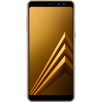 Samsung Galaxy A8 (32GB Gold) at £25.00 on goodybag 4GB with UNLIMITED mins; UNLIMITED texts; 4000MB of 4G data. £29.58 a month.