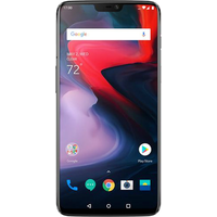 OnePlus 6 Dual SIM (64GB Mirror Black)