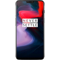 OnePlus 6 Dual SIM (128GB Mirror Black Pre-Owned Grade B) at £50.00 on No contract £19.13 a month.