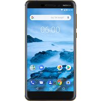Nokia 6.1 (32GB Blue) at £79.99 on Pay Monthly 1GB (24 Month(s) contract) with 250 mins; UNLIMITED texts; 1000MB of 4G data. £15.99 a month.