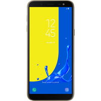 Samsung Galaxy J6 Dual SIM (32GB Gold) at £100.00 on goodybag 4GB with UNLIMITED mins; UNLIMITED texts; 4000MB of 4G data. £17.9