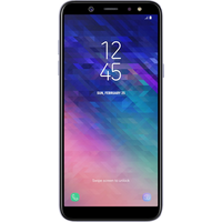 Samsung Galaxy A6 (32GB Lavender) at £279.00 on goodybag Always On with UNLIMITED mins; UNLIMITED texts; UNLIMITEDMB of 4G data.