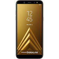 Samsung Galaxy A6 (32GB Gold) at £100.00 on goodybag 4GB with UNLIMITED mins; UNLIMITED texts; 4000MB of 4G data. £23.90 a month