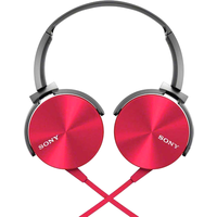 Sony MDR-XB450AP (Red)