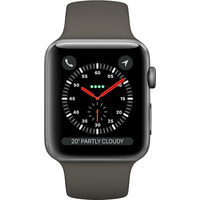 Apple Watch Series 3 42mm (GPS+Cellular) Space Grey Aluminium Case with Grey Sport Band