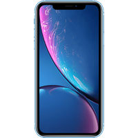 Apple iPhone XR (64GB Blue) at £100.00 on goodybag 8GB with UNLIMITED mins; UNLIMITED texts; 8000MB of 4G data. £129.46 a month.