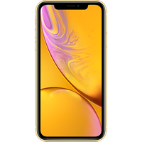 Apple iPhone XR (64GB Yellow) at £50.00 on goodybag 4GB with UNLIMITED mins; UNLIMITED texts; 4000MB of 4G data. £55.44 a month.