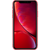 Apple iPhone XR (128GB (PRODUCT) RED) at £50.00 on goodybag 3GB with UNLIMITED mins; UNLIMITED texts; 3000MB of 4G data. £57.92